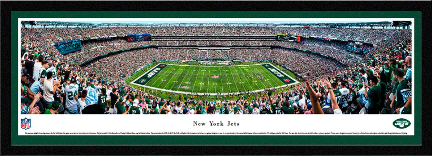 Blakeway Panoramas New York Jets Framed Panorama Poster