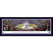 Blakeway Panoramas Baltimore Ravens Framed Panorama Poster