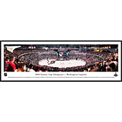 Blakeway Panoramas 2018 Stanley Cup Champions Washington Capitals Standard Framed Panorama Poster