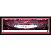 Blakeway Panoramas Calgary Flames Framed Panorama Poster