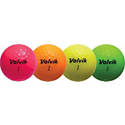 Volvik 2018 Crystal Personalized Golf Balls – Pink/Orange/Yellow/Green