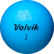 Volvik 2018 VIVID Matte Blue Personalized Golf Balls
