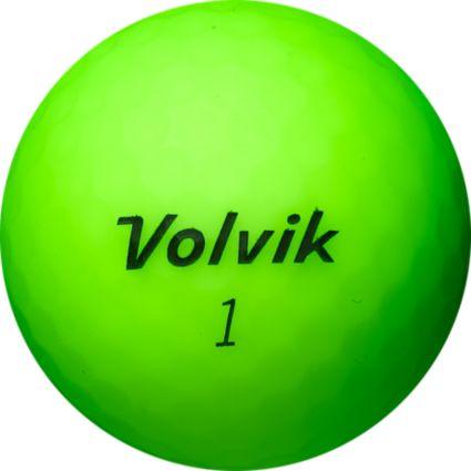 Volvik 2018 VIVID Matte Green Personalized Golf Balls