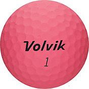 Volvik 2018 VIVID Soft Matte Pink Personalized Golf Balls