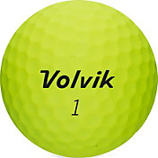 Volvik 2018 VIVID Soft Matte Yellow Personalized Golf Balls