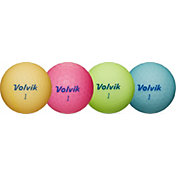 Volvik 2018 VIVID Lite Matte Personalized Golf Balls – Blue/Green/Pink/Orange