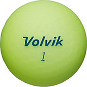Volvik 2018 VIVID Matte Yellow Personalized Golf Balls