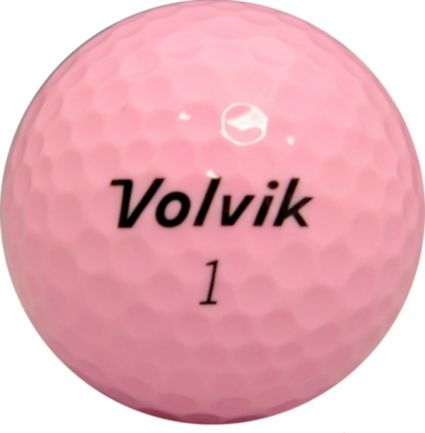 Volvik DS 55 Pink Personalized Golf Balls