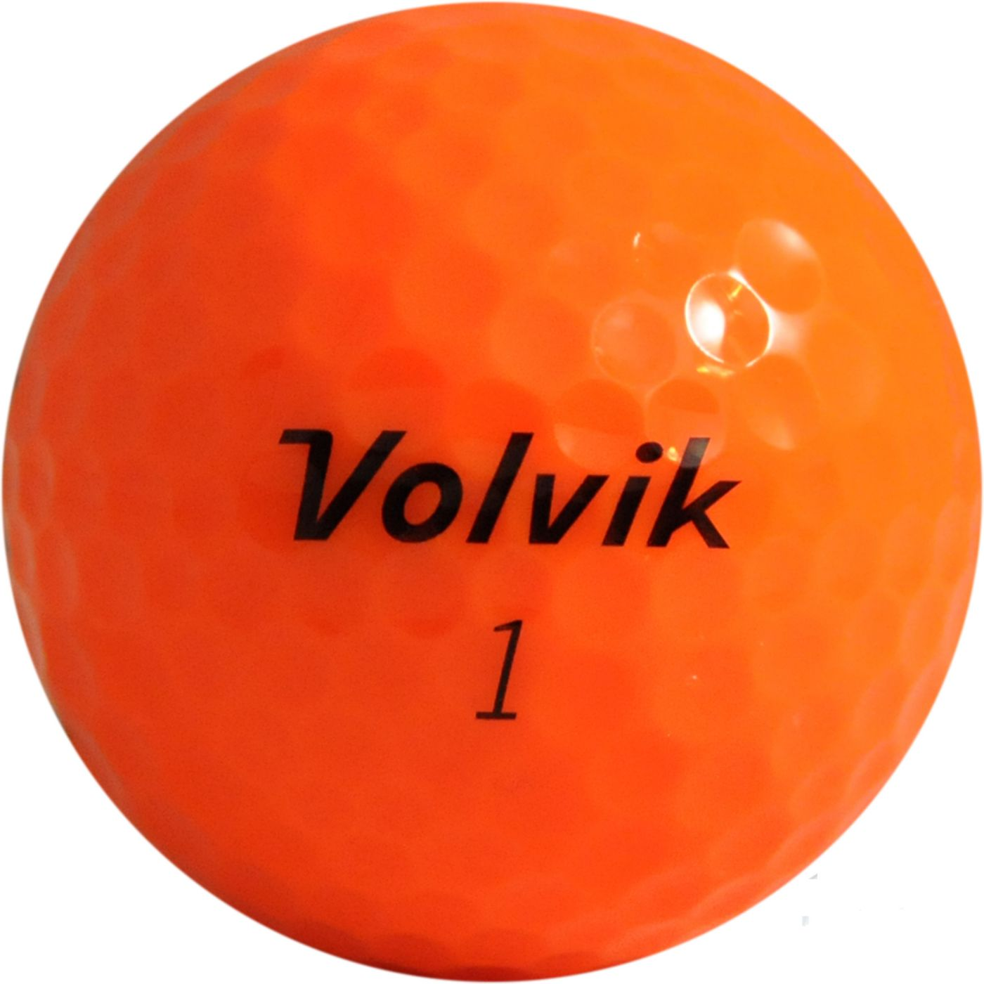 Volvik DS 55 Orange Personalized Golf Balls