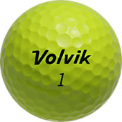 Volvik DS 55 Yellow Golf Balls