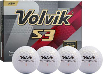 Volvik S3 Personalized Golf Balls
