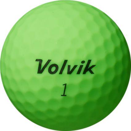 Volvik Vivid XT Matte Green Golf Balls