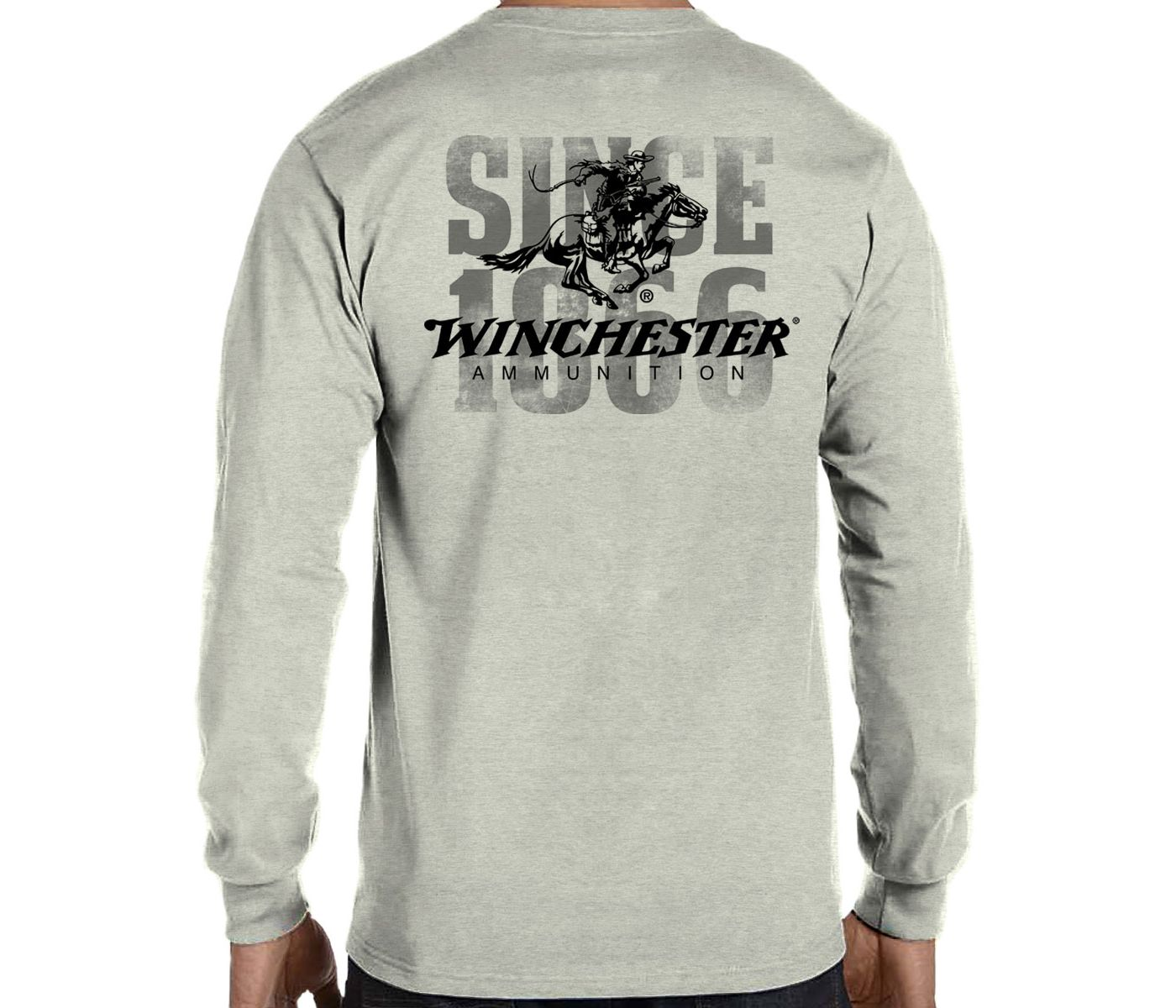 Winchester Men's 1866 Vintage Rider Long Sleeve Shirt