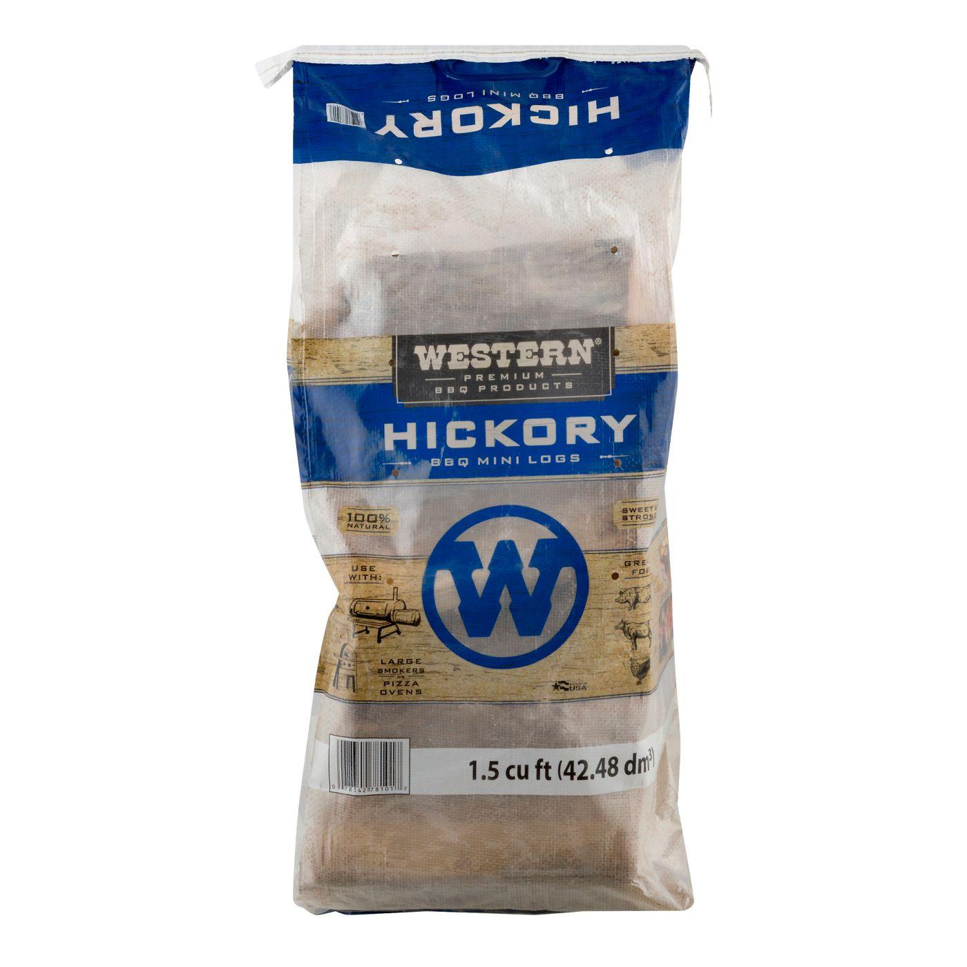 WESTERN BBQ Hickory Mini-Logs