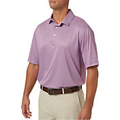 Walter Hagen Men's Diamond Tile Print Golf Polo