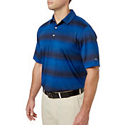 Walter Hagen Men's Gradient Wide Stripe Golf Polo