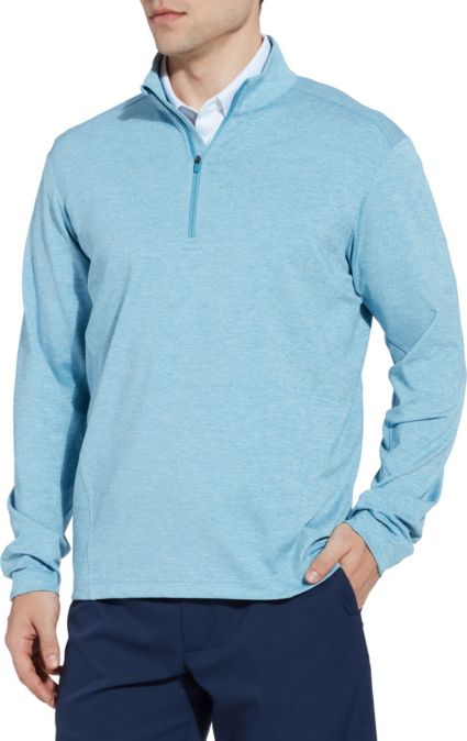 Walter Hagen Men's Lightweight Heather Golf ¼ Zip