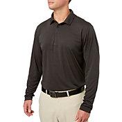 Walter Hagen Men's Long Sleeve Heather Golf Polo