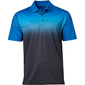 Walter Hagen Men's Ombre Fine Line Stripe Golf Polo