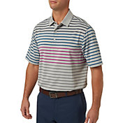 Walter Hagen Men's Multi Color Stripe Golf Polo