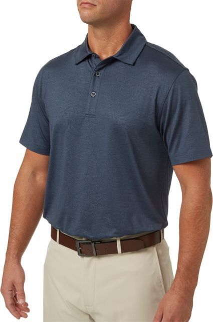 Walter Hagen Men's Paisley Printed Lifestyle Golf Polo
