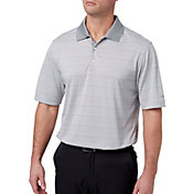 Walter Hagen Men's Essential Fine Line Wide Stripe Golf Polo