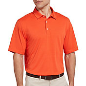 Walter Hagen Men's Essential Texture Stripe Golf Polo