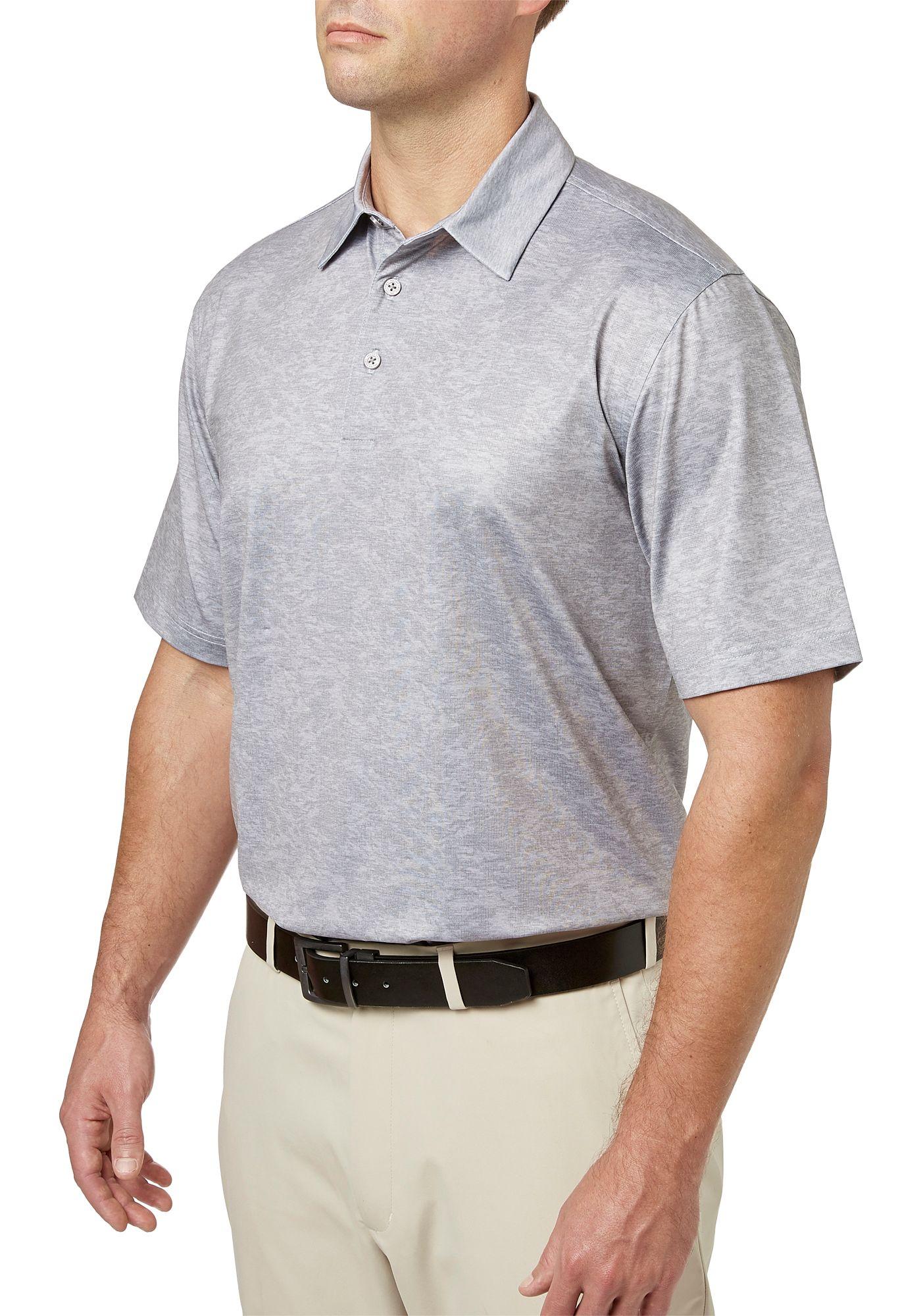Walter Hagen Men's Tonal Camo Print Golf Polo