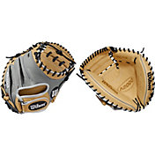 Wilson 33'' A2000 SuperSkin Series Pedroia Fit Catcher's Mitt 2019