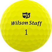 Wilson Staff Duo Professional Golf Balls – Matte Yellow