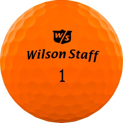 Wilson Staff Duo Professional Golf Balls – Matte Orange