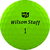 Wilson Staff Duo Professional Golf Balls – Matte Green