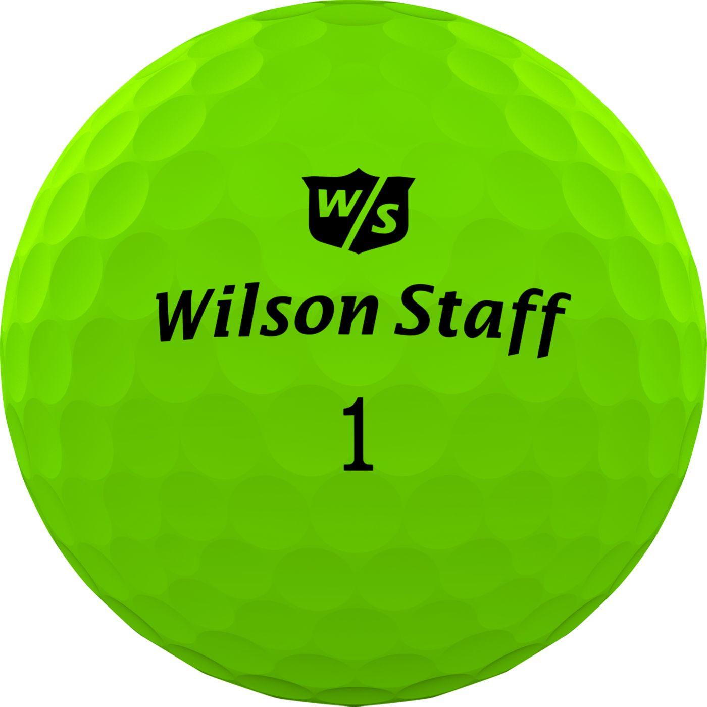 Wilson Staff Duo Professional Golf Balls – Matte Green