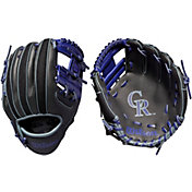 "Wilson 10"" A200 Colorado Rockies T-Ball Glove"