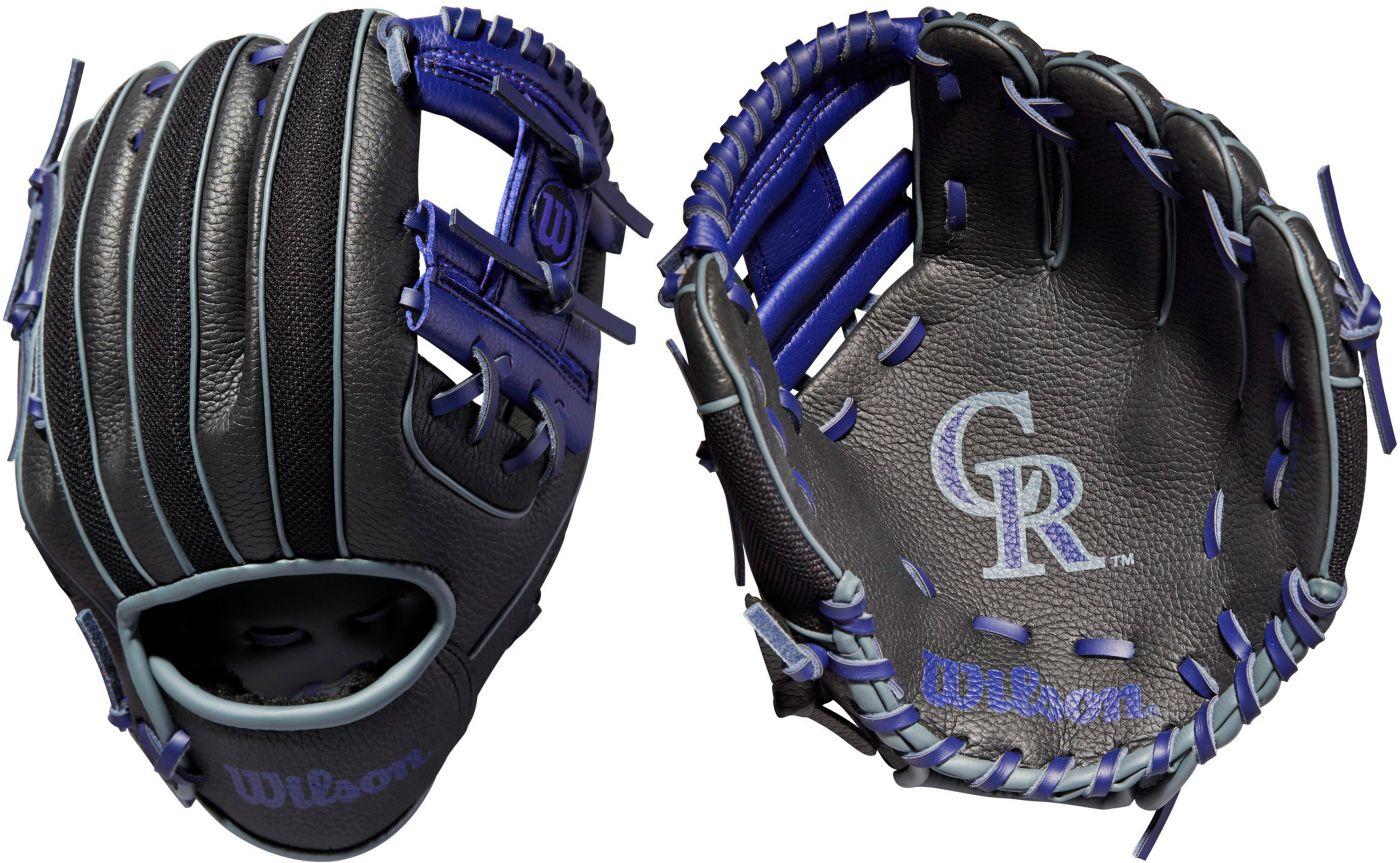 "Wilson 10"" A200 Colorado Rockies T-Ball Glove"
