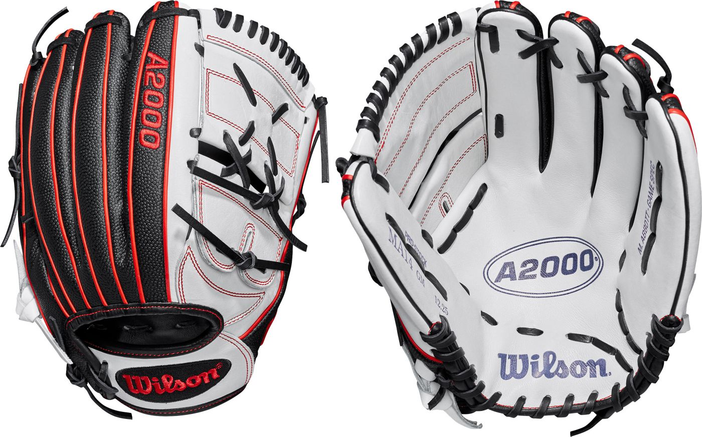Wilson 12.25'' Monica Abbott A2000 SuperSkin Series Fastpitch Glove 2019