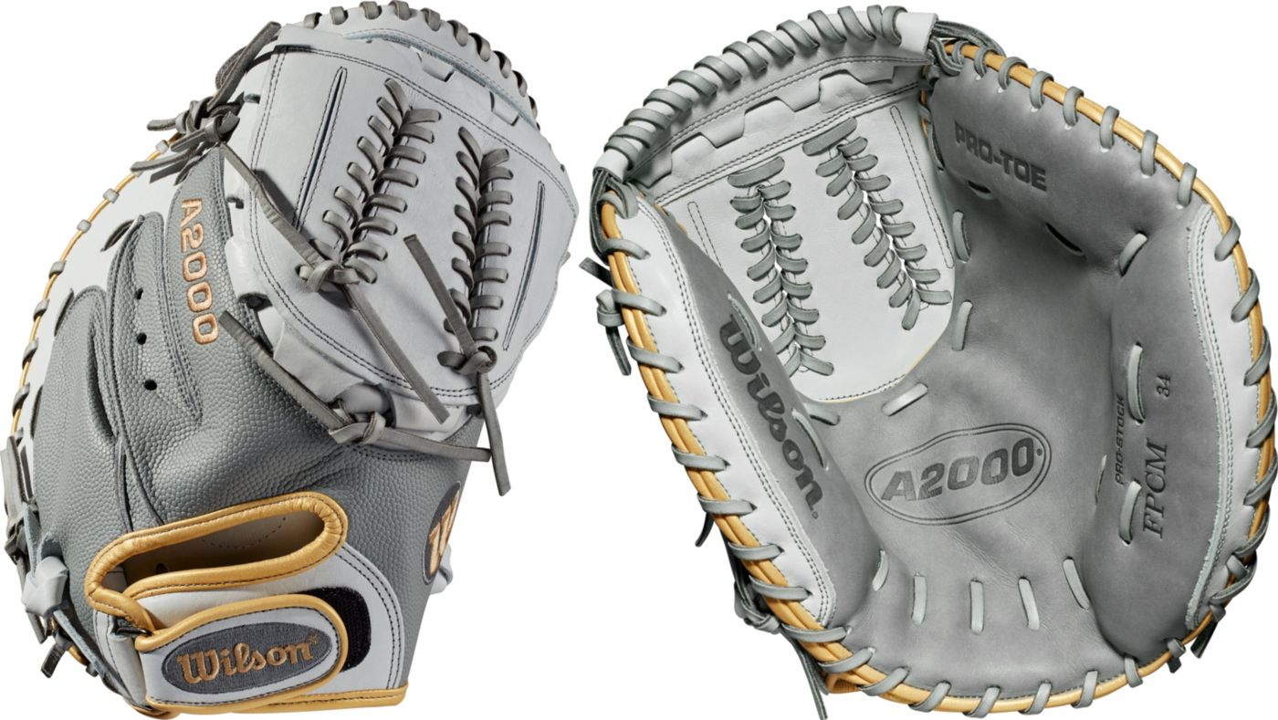 Wilson 34'' A2000 SuperSkin Series Fastpitch Catcher's Mitt
