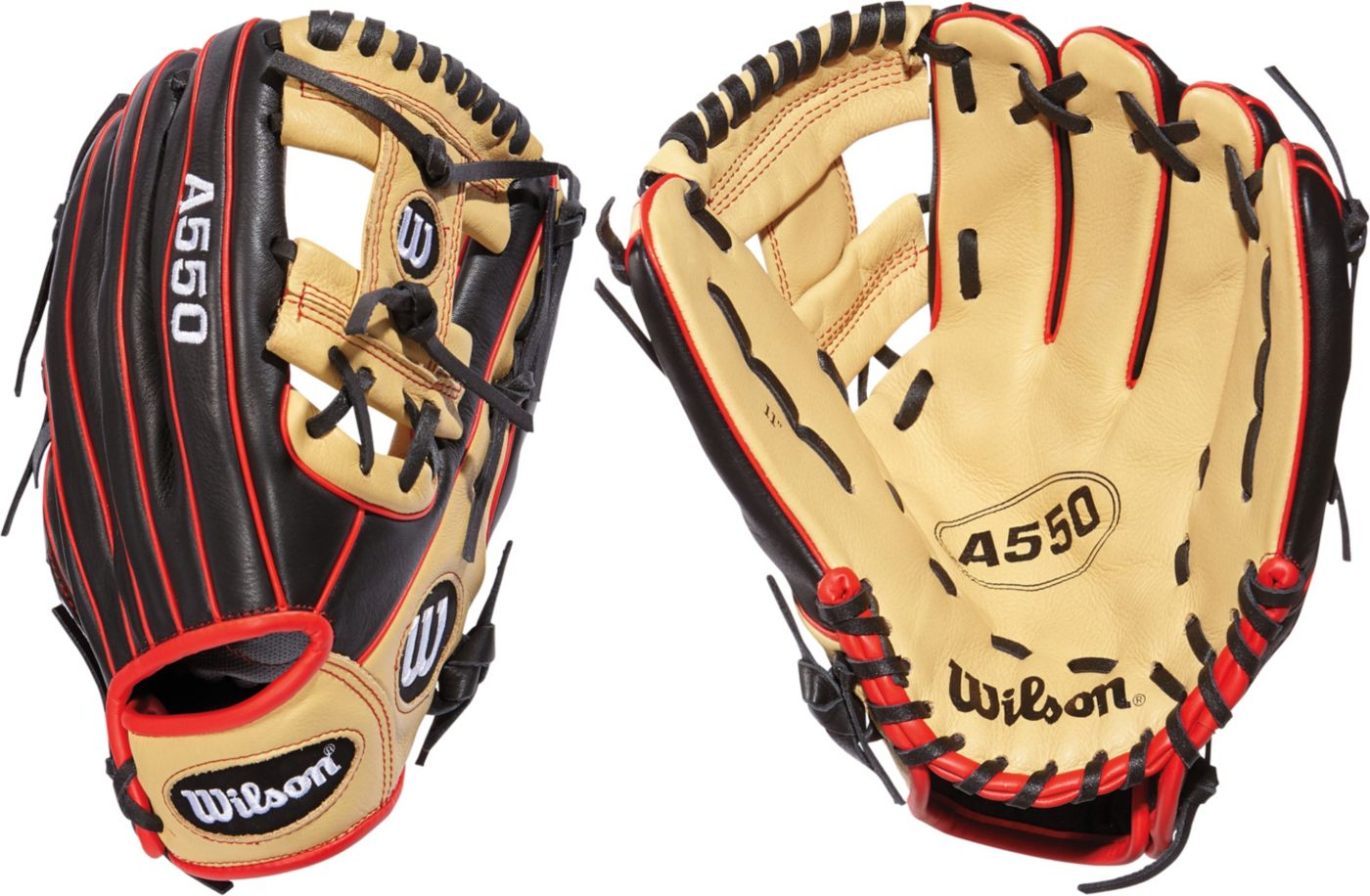"Wilson 11"" Youth A550 Series Glove"