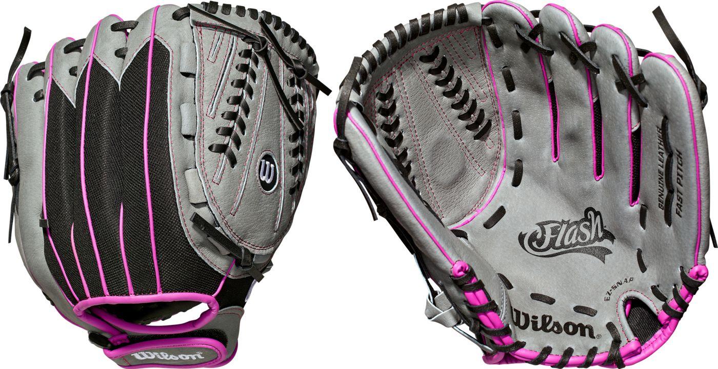 Wilson 12'' Girls' Flash Series Fastpitch Glove