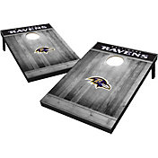 Wild Sports Baltimore Ravens Grey Wood Tailgate Toss