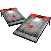 Wild Sports Cleveland Browns Grey Wood Tailgate Toss