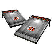 Wild Sports Cincinnati Bengals Grey Wood Tailgate Toss