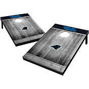 Wild Sports Carolina Panthers Grey Wood Tailgate Toss