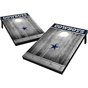 Wild Sports Dallas Cowboys Grey Wood Tailgate Toss