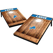 Wild Sports Detroit Lions Brown Wood Tailgate Toss