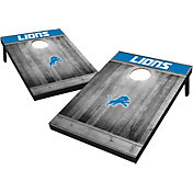 Wild Sports Detroit Lions Grey Wood Tailgate Toss