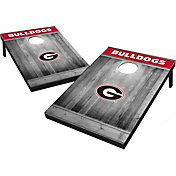 Wild Sports Georgia Bulldogs NCAA Grey Wood Tailgate Toss