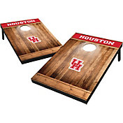 Wild Sports Houston Cougars NCAA Brown Wood Tailgate Toss