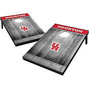 Wild Sports Houston Cougars NCAA Grey Wood Tailgate Toss