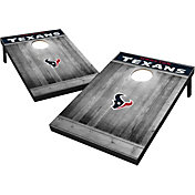 Wild Sports Houston Texans Grey Wood Tailgate Toss